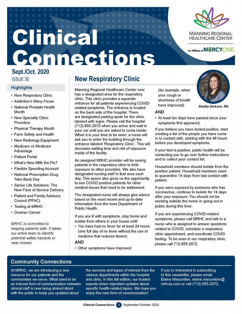 Clinical Connection page 1