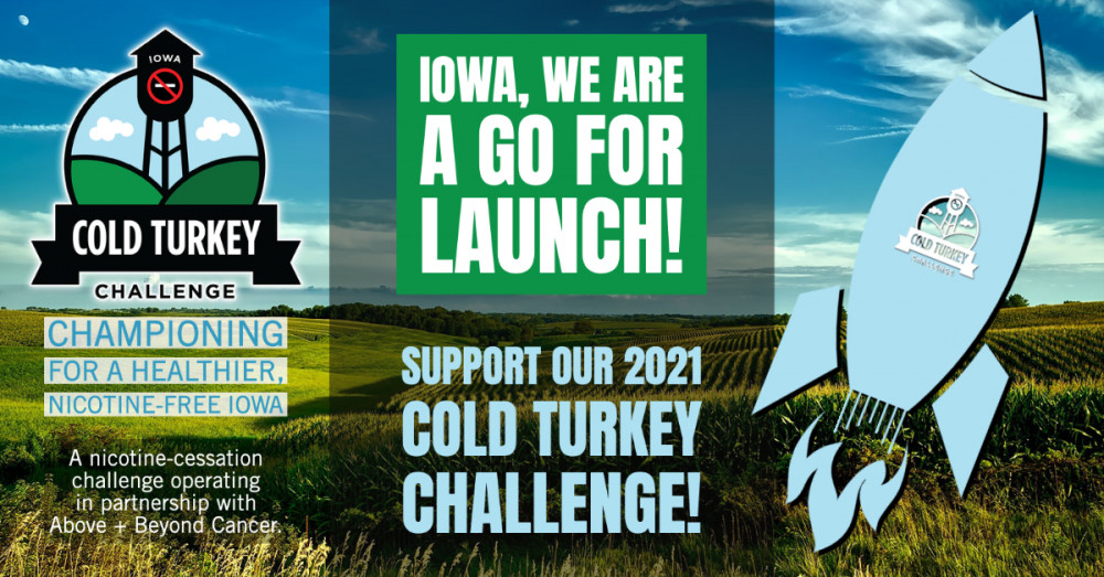 Iowa Cold Turkey Challenge Launch